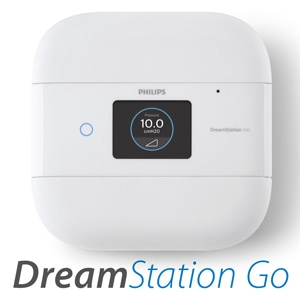 DreamStation Go Portable Auto-CPAP Machine Package with BlueTooth
