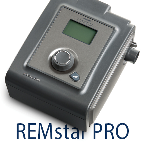 Philips respironics system one remstar auto cpap machine with a.