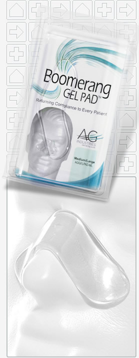 Direct Home Medical Aircurve 10 Vauto Bilevel Machine: Direct Home Medical: Boomerang Gel Pad For CPAP Masks