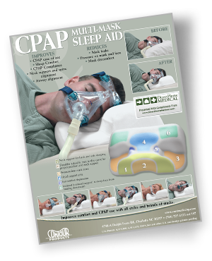 contour cpap pillow brochure