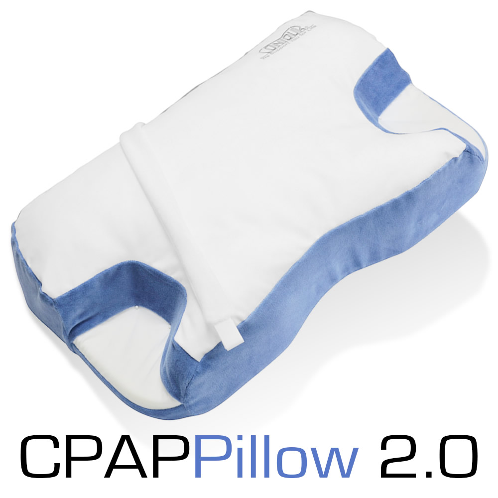 direct home medical contour cpap pillow 20 with removable fitted cover