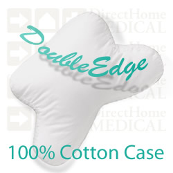 100% Soft Cotton Fitted Pillow Case for DoubleEdge PAPillow CPAP Pillows