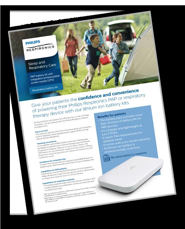 Direct Home Medical Respironics Travel Battery Kit For Pr