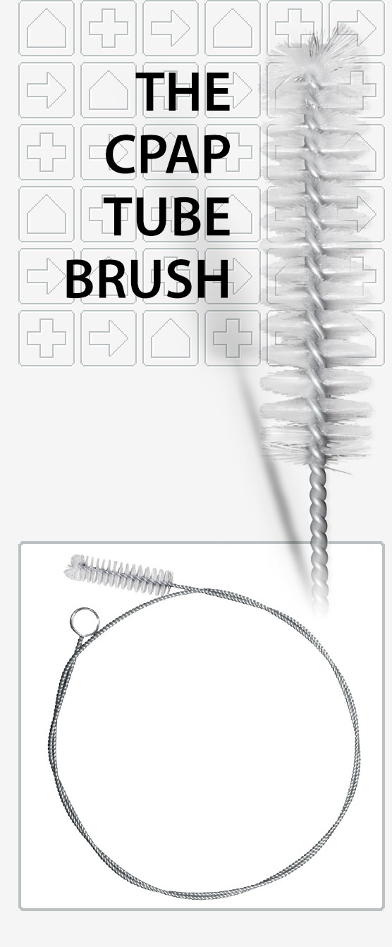 The CPAP Tube Brush