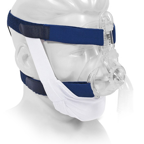 Standard White Chinstrap for CPAP Therapy