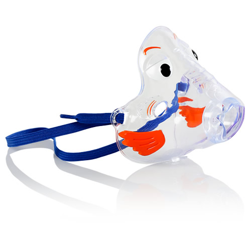 Bubbles the Fish II Pediatric Aerosol Mask for Nebulizers
