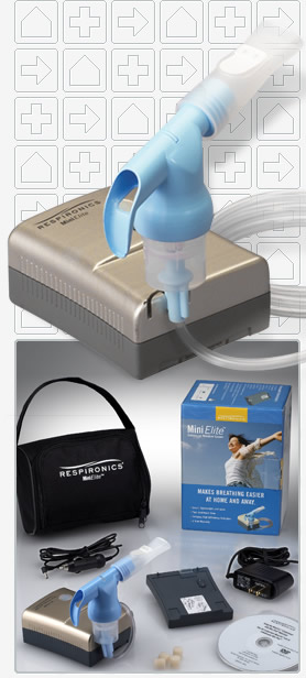 Mini Elite Compressor with SideStream Plus Reusable Nebulizer (DISCONTINUED)
