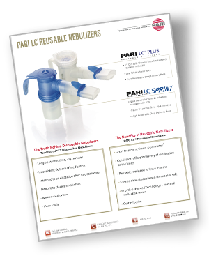 Pari LC Reusable Nebulizer Brochure