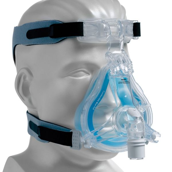 sneakers for cheap bb37b 6f00d Philips Respironics ComfortGel Blue FULL Face CPAP Mask Pack with Headgear