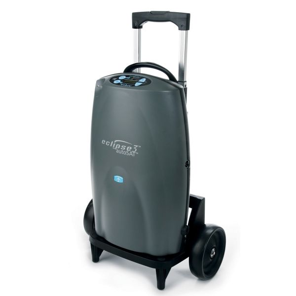 Sequal eclipse 5 portable oxygen concentrator (6900) pulse and.