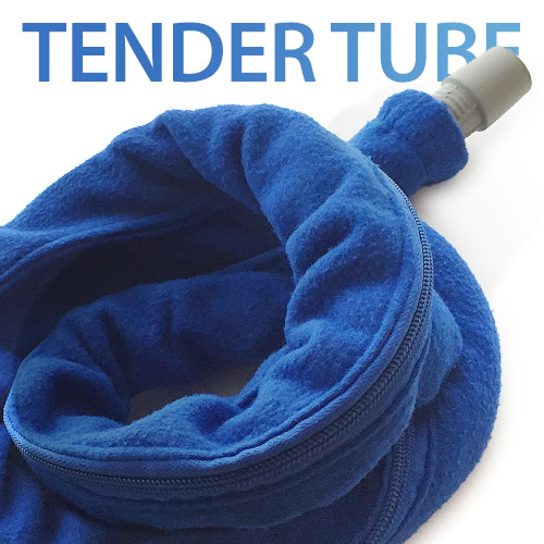 6-Foot Tender Tube Reversable Soft Fleece CPAP & BiPAP Hose Cover