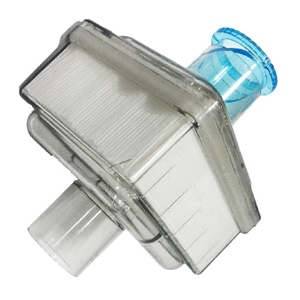 Clear Inlet Filter Kit with Blue Silencer Cap for Millennium M10 Oxygen Concentrators - 1 Pack