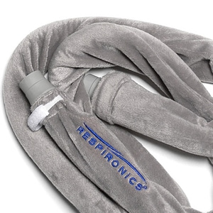 6 Foot Silver Fleece CPAP & BiPAP Hose Tubing Cover