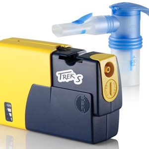 Trek S Portable Compressor Nebulizer with LC Sprint Nebulizers