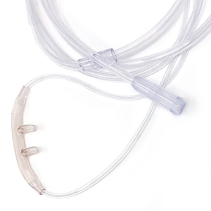 Salter 1600Q 'Quiet' Nasal Cannula with 4 Foot Oxygen Supply Tubing