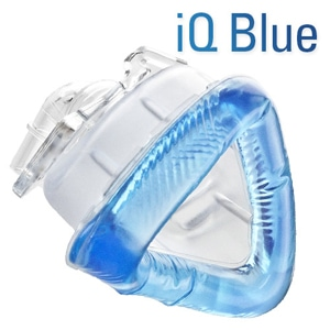 IQ Blue Gel Nasal CPAP Mask Pack with StableFit Headgear