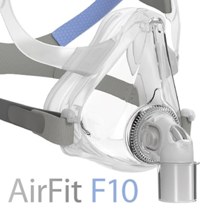 AirFit™ F10 Full Face CPAP Mask Pack with Headgear