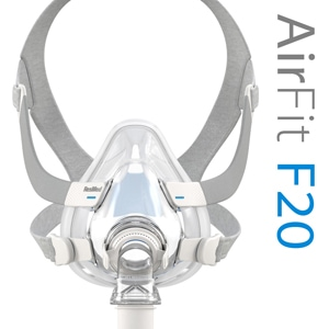 AirFit™ F20 Full Face CPAP Mask Pack with Headgear
