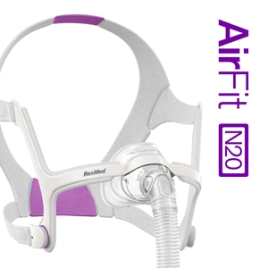 AirFit™ N20 For Her Nasal CPAP Mask Pack with Headgear