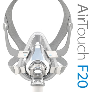 AirTouch™ F20 Full Face CPAP Mask Pack with Headgear