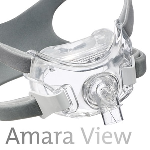 Amara View Full Face CPAP Mask Pack with Headgear