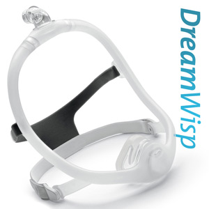 DreamWisp Nasal CPAP Mask Pack with Headgear