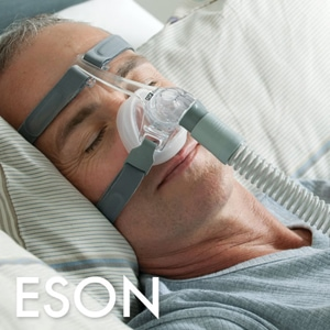 F&P Eson Nasal CPAP Mask Pack with Headgear