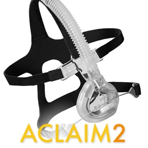 Aclaim2 Nasal CPAP Mask FitPack with Headgear
