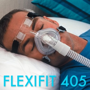 FlexiFit 405 Nasal CPAP Mask FitPack with Headgear
