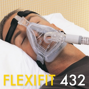 FlexiFit 432 Full Face CPAP Mask Pack with Headgear