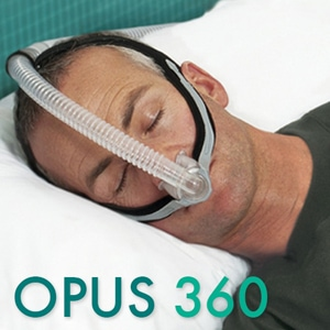 Opus 360 Nasal Pillows CPAP Mask Pack with Headgear