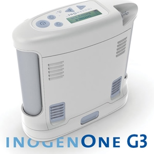 Inogen One G3 Portable Oxygen Concentrator Bundle (Pulse Dose)