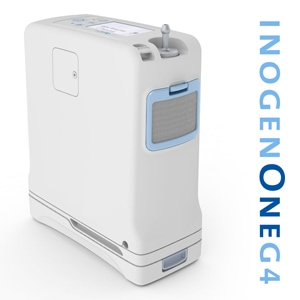 Inogen One G4 Portable Oxygen Concentrator Bundle (Pulse Dose)