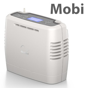 Mobi Portable Oxygen Concentrator Bundle (Pulse Dose)
