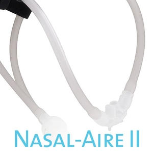 "Nasal-Aire II ""Cannula Style"" Nasal Prong CPAP Mask Pack with Headgear"