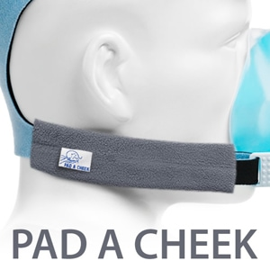 Pad A Cheek Fleece CPAP Mask Headgear Strap Wraps - 1 Pair