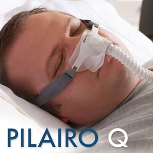 F&P Pilairo Q Nasal Pillows CPAP Mask Pack with Adjustable & StretchWise Headgear