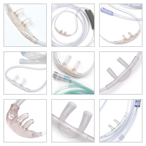 Nasal Cannula Variety 12 Pack for Portable Oxygen Users