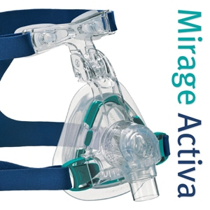 Mirage Activa™ Nasal CPAP Mask Pack with Headgear