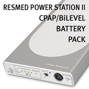 ResMed Power Station (RPS) II Battery Pack for CPAP & BiLevel Machines