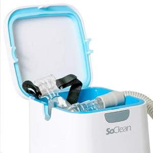 SoClean 2 Automatic CPAP Cleaner & Sanitizer + Free Tubing Adapter