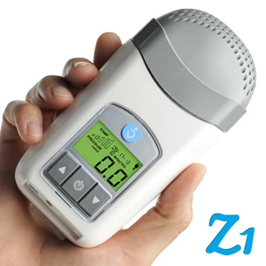Z1 Travel CPAP Machine Package with Z-Breathe