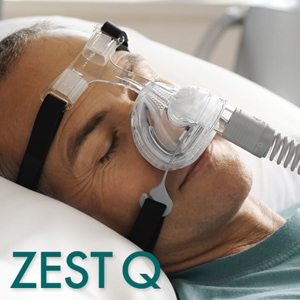 F&P Zest Q Premium Nasal CPAP Mask Pack with Headgear