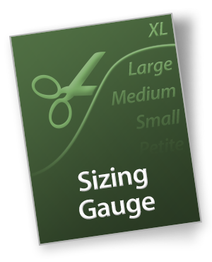 trueblue cpap mask sizing gauge
