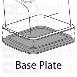 Base Plate with Gasket for REMstar & H2 Heated Humidifier Chambers (DISCONTINUED)