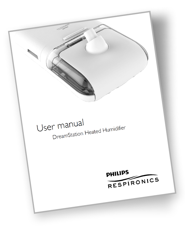 dreamstation cpap humidifier manual