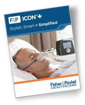 f&p icon+ cpap brochure