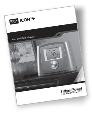 f&p icon+ cpap manual