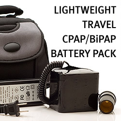 battery pack for bipap machine