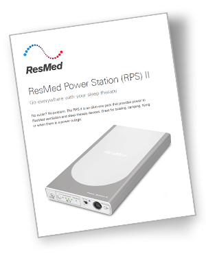 ResMed Power Station II Fact Sheet